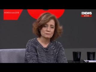 MIRIAM LEITÃO NAO SABE LER UM PROMPT