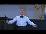 Матвей Гущин на конкурсе юных вокалистов имени Елены Образцовой