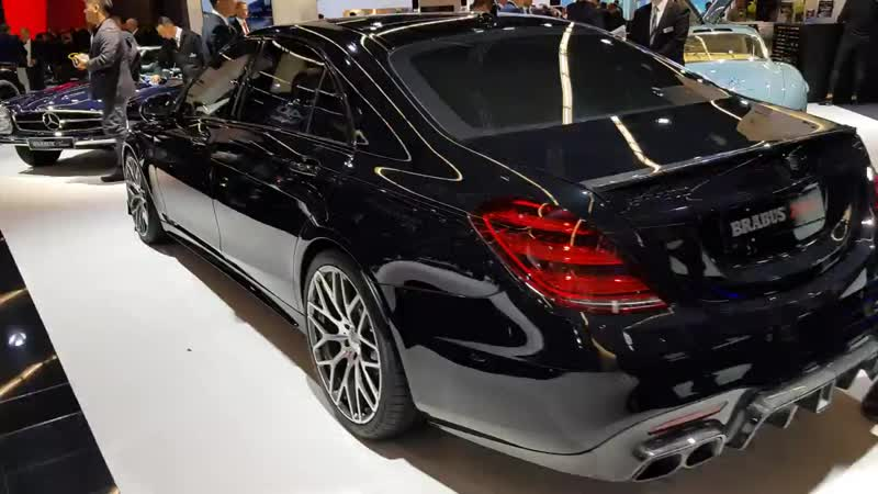Brabus 700 S63 W222 S-classe. Beautiful. I mixed it up with the E63S