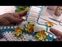 Pegador de panela cesta de flores