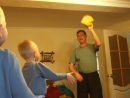 утренняя зарядка с внучатами