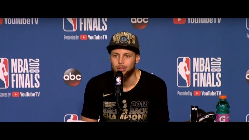 Stephen Curry Postgame Interview NBA Finals Game 4