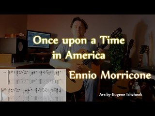 Once Upon a Time in America - Fingerstyle Guitar Cover +TABS