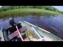 Первая рыбалка с лодки спинингом 1 июля