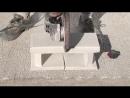 Быстрая укладка блоков и установка столбов