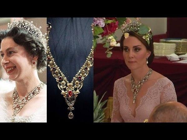 Kate Middleton's Jewelry Loans From Queen Elizabeth