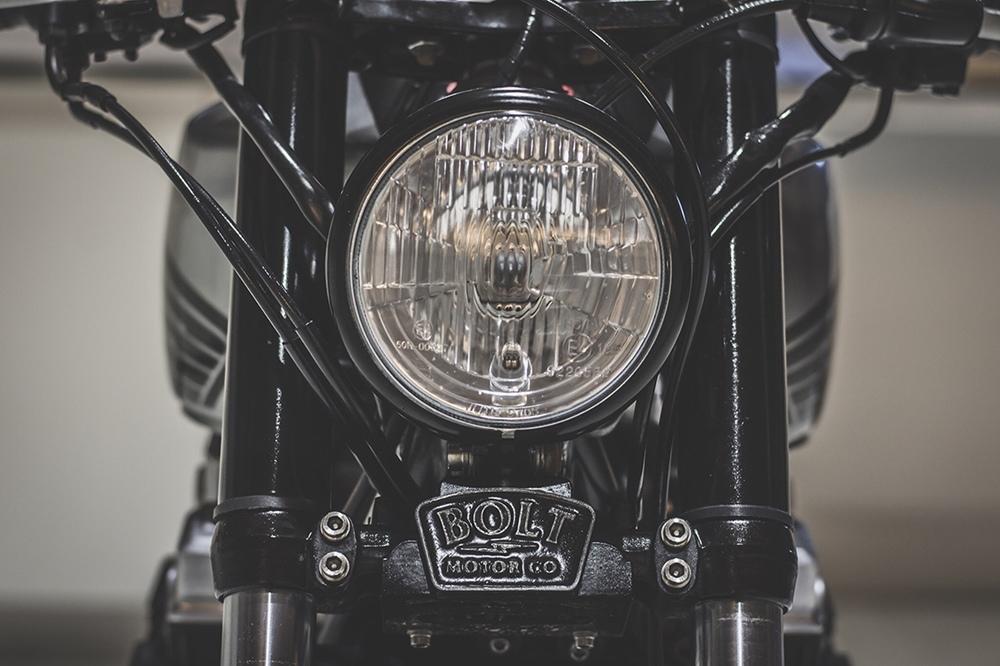 Bolt Motor Co.: кафе рейсер Honda CB750 ака Bolt 008