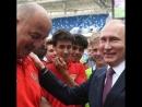 Владимир Путин поблагодарил Черчесова