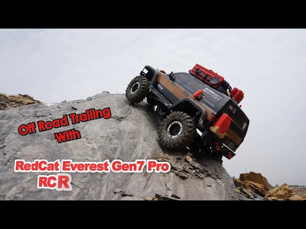 RedCat Racing Everest Gen7 Pro 4x4 Off Road Trailing