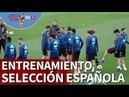 Entrenamiento de la Selección Española en Las Rozas I Diario AS