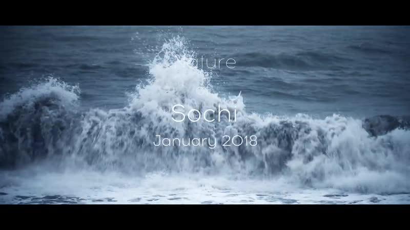 Природа Сочи (Зима 2018г. 4K Аэросъемка)