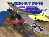 Building the 132 Wingnut Wings Red Baron Albatros D.V