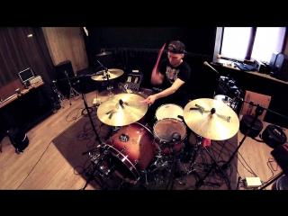 Rau.di - Break me - Recording drums