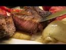 Сочный стейк из нежной говядины