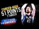 Kevin Love UNREAL Performance 2012.03.23 at Thunder - Career-HiGH 51 Pts, 7 Threes! | FreeDawkins