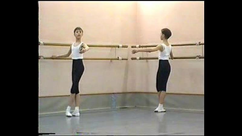 уроки Найдича Юрия Михайловича 3-й год обучения Академия Русского балета имени А.Я. Вагановой
