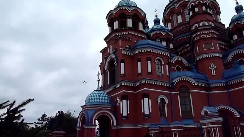 Праздничный колокольный звон храма Казанской иконы Божией Матери г Иркутска