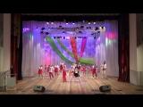 Выступление на областном фестивале спортивных школ 01.12.2017