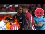 El Derbi ● Atletico Madrid vs Real Madrid ● Crazy Fights, Tackles, Dives, Red Cards - HD