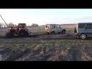 Кто кого, Трактор Т-40 против УАЗ 469 (3 шт.), эпическая битва.