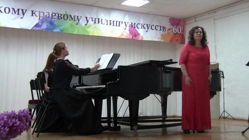 Госы. Концертмейстерский класс. Солистка - Рябцева Светлана Викторовна.