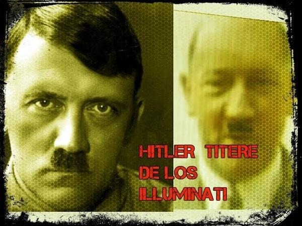 Hitler marioneta mk ultra de los illuminati fue refugiado en sudamerica