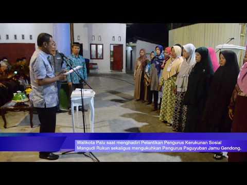 Pelantikan Pengurus Kerukunan Sosial Mangudi Rukun