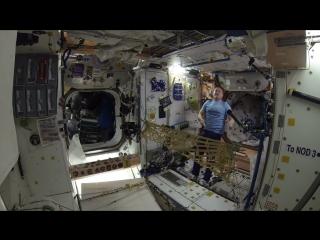 Турнир по теннису в космосе