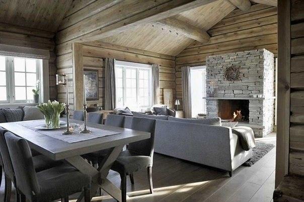 Уютный зимний домик