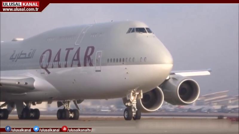 Katar Şeyhinden Erdoğana hediye uçak