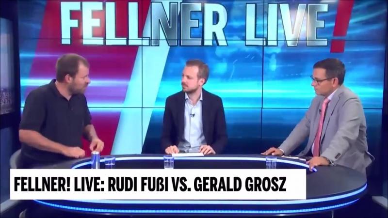 Rudy Fußi bei Fellner Live - In Chemnitz marschieren keine besorgten Bürger, sondern Nazis
