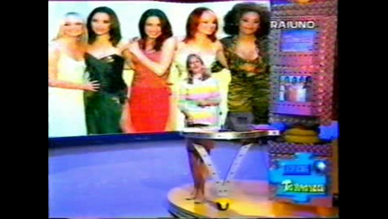 Spice Girls - Tour Report Interview - Rome - TG Ragazzi 06.03.1998