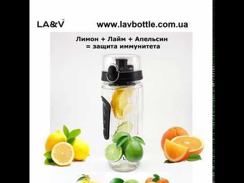 Фруктовая вода: лимон, лайм, апельсин - защита иммунитета