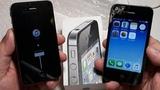 Купил iPhone 4S полностью рабочий с битым дисплеем за копейки