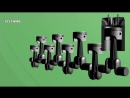 Crazy Motors the internal combustion engine and a jet engine on a truck, acceleration to 100.mp4