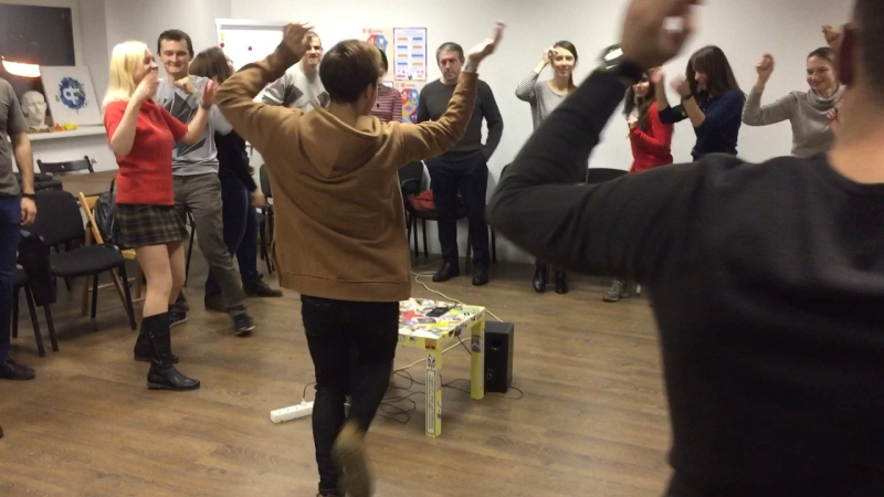 Dancing with Fialta English Club. part1