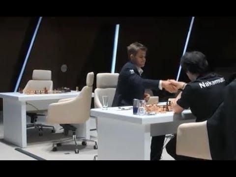 Magnus Carlsen vs Hikaru Nakamura - Slav Defense    Chess Clip 291