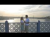 Потрясающее Love Story в Стамбуле замечательной пары Керима и Дарьи