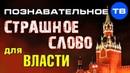 Самое страшное слово для российской власти Познавательное ТВ, Артём Войтенков