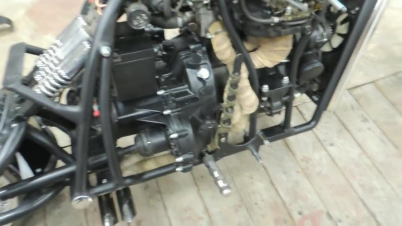 Мотоцикл на базе двигателя ваз 2108 детальный обзор часть 2 » Freewka.com - Смотреть онлайн в хорощем качестве