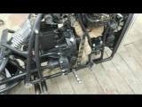 Мотоцикл на базе двигателя ваз 2108 детальный обзор часть 2