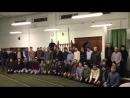 В молельной комнате при КПЦ Дагестан прошел мавлид в котором приняли участие представители Ахтынского Догузпаринского Кусарск