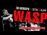 Amalgama и W.A.S.P. Stadium Live. Приглашение на концерт 30 ноября в Stadium Live.
