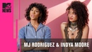 MJ Rodriguez Indya Moore of 'Pose' on Cis Actors Portraying Trans Characters   MTV News