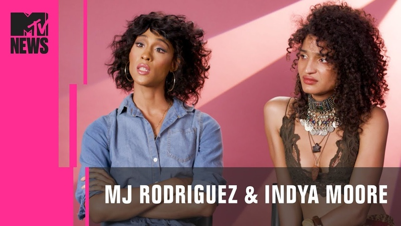 MJ Rodriguez Indya Moore of 'Pose' on Cis Actors Portraying Trans Characters | MTV News
