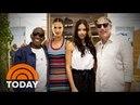 Matt And Al Go Shopping With Adriana Lima And Alessandra Ambrosio TODAY