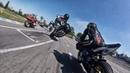 MotoGP по нашему Yamaha R6 в действии