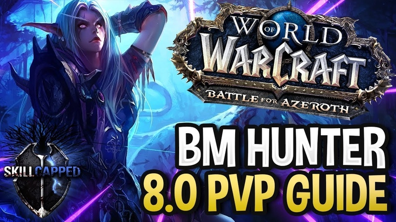 GET STARTED: Beast Mastery Hunter BfA 8.0 PvP Talents, Azerite Traits and Damage Guide