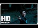 Гарри спасает себя и Сириуса от Дементоров - Гарри Поттер и узник Азкабана (2004) - Момент из фильма