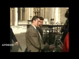 George Michael departing the Royal Courts of Justice